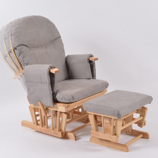 grey beech recliner