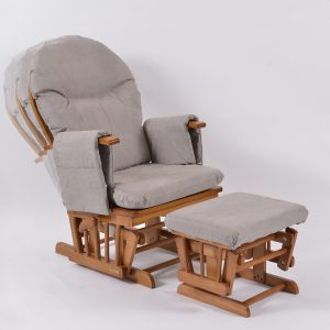 grey oak recliner